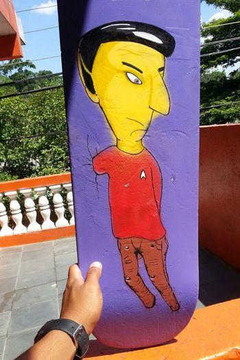 Drawing Coloring Art Spock