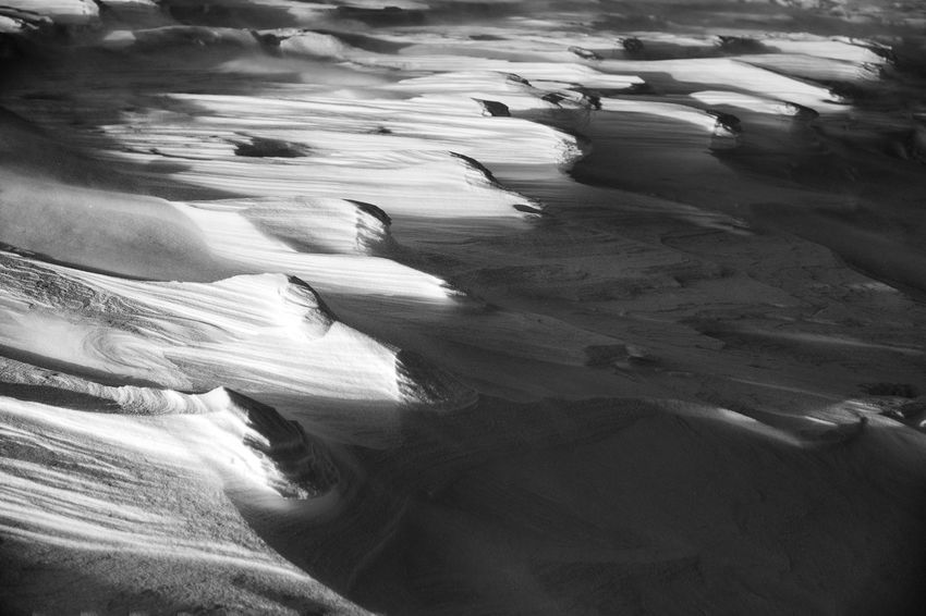 Beach Beauty In Nature Blackandwhite Ciucas Day Dunes EyeEm Best Edits EyeEm Best Shots EyeEm Nature Lover EyeEmBestPics EyeEmNewHere Motion Nature No People Outdoors Physical Geography Romania Sand Scenics Shadow Shapes In Nature  Snow Tranquility Water Winter Perspectives On Nature Black And White Friday