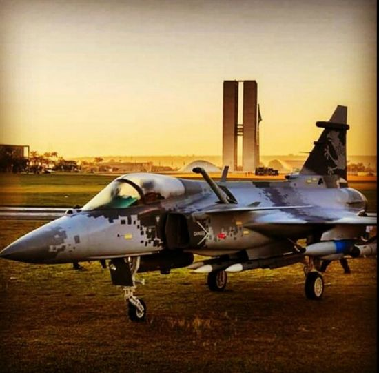 Força Aérea Brasileira FAB Gripen NG Bsb Brasília Brazil