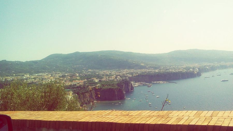 Sorrento coastline! Famous Place Sorrento Sea Sun Turist Coast To Coast Relaxing