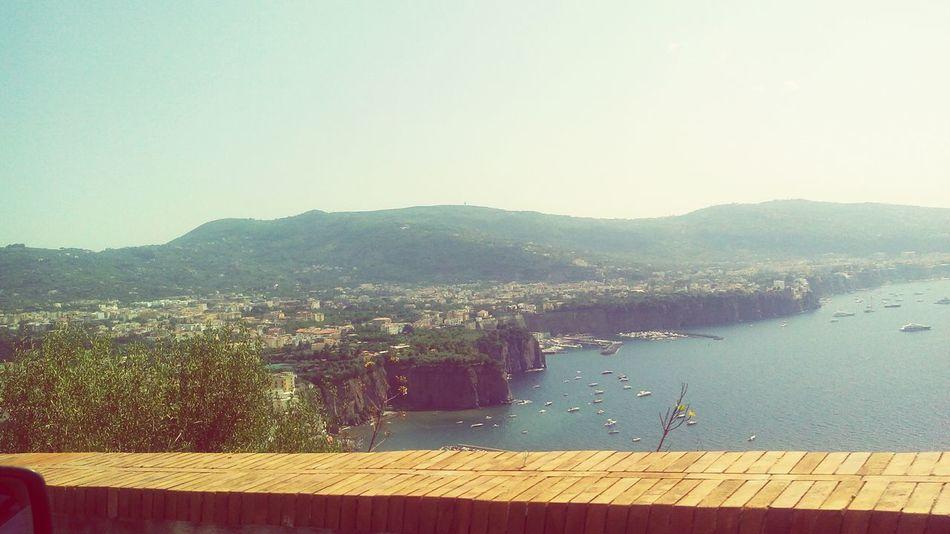 Sorrento coastline! Famous Place Sorrento Sea Sun Turist Coast To Coast Relaxing