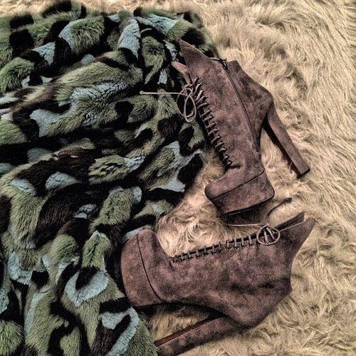 Camouflage Mink X Alaia
