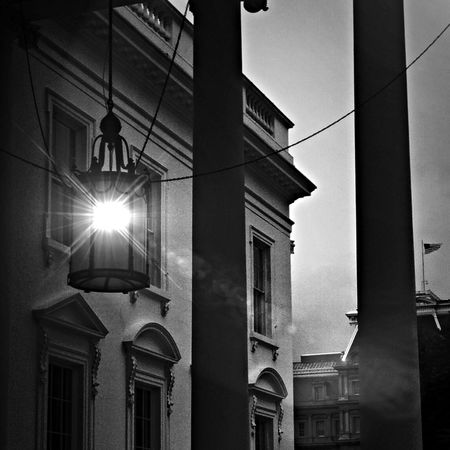 Thought I would add my street lamp Black And White Photography . Architectural Elements Shadows & Lights Street Lamp Monday