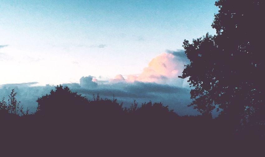 ☁️☁️ Sky Pink Blue Love First Eyeem Photo