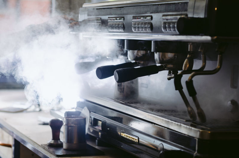 Smoke - Physical Structure Steam Appliance Stove Food And Drink Heat - Temperature No People Indoors  Motion Day Close-up Preparation  Emitting Household Equipment Nature Kitchen Metal Focus On Foreground Kitchen Utensil Preparing Food