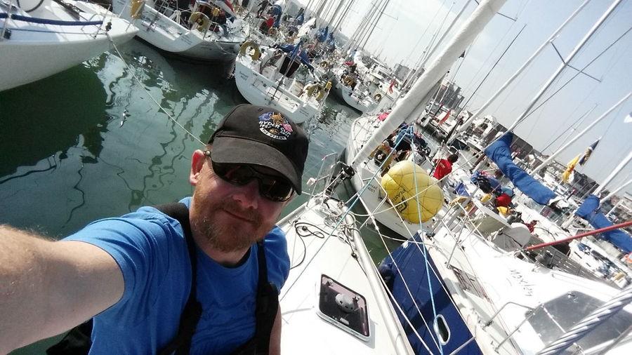 Selfie Water Nautical Vessel Outdoors EyeEmNewHere Sea Sailing Isle Of Wight  Regatta Cowes Isle Of Wight