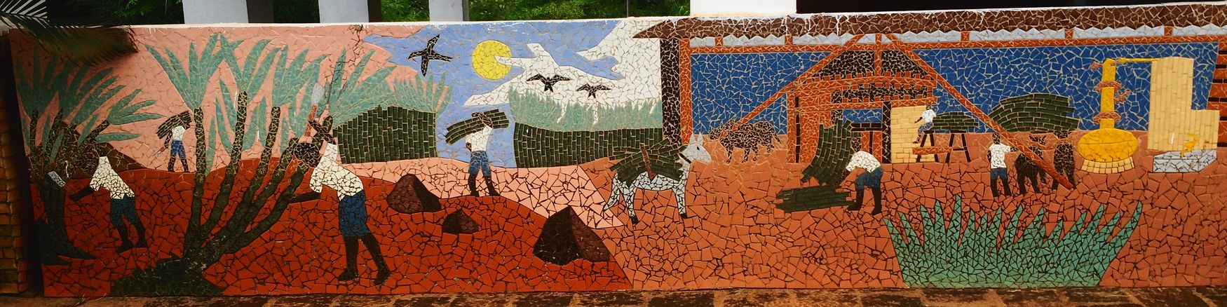Mosaic Mosaico Engenho Alagoa Grande Paraíba Brasil ♥ Arte Art Paraíba / Brasil