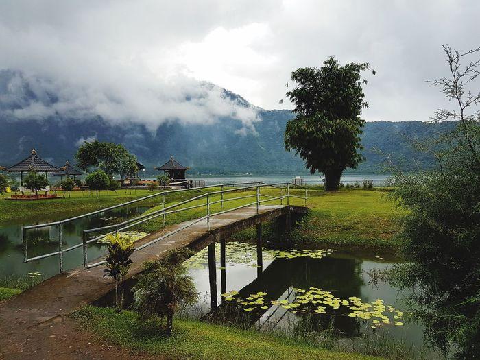 Бали. Храм на