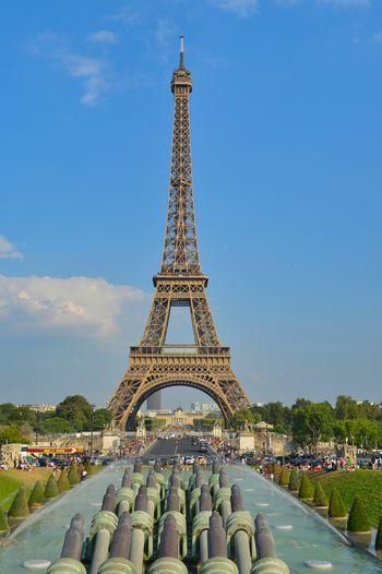 Eiffel Tower Paris Paris, France  Architecture Building Building Exterior Built Structure City Cloud - Sky Day Eiffel Eiffeltower Eiffelturm History Incidental People Metal Nature Outdoors Sky Tall - High The Past Tourism Tower Travel Travel Destinations