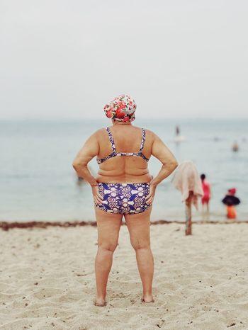 Baywatch 👙 מייים מייבתגלים IPhoneX ShotOnIphone מייאייפון10 Beach Sea Land Water Sand Standing Nature Sky Leisure Activity Outdoors This Is My Skin The Week On EyeEm Editor's Picks