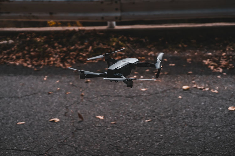 EyeEm Japan ASIA Shootermag AMPt_community Thedarksquare Transportation No People Day Mode Of Transportation Nature Leaf Plant Part Air Vehicle Dry Focus On Foreground Outdoors Airplane Selective Focus High Angle View Autumn Flying Land Bird Road Animal Wildlife Leaves