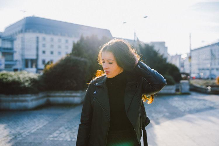 Young Woman In Bratislava