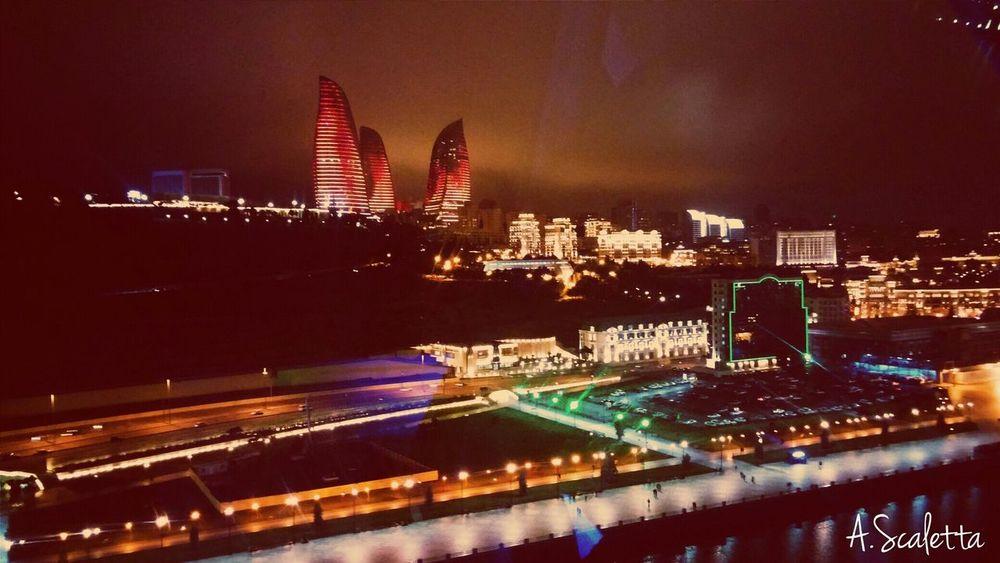 Flametowers Bakunights Azerbaijan