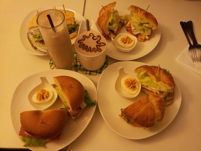 breakfast (*゚∀゚*) Breakfast On A Date Eating Relaxing