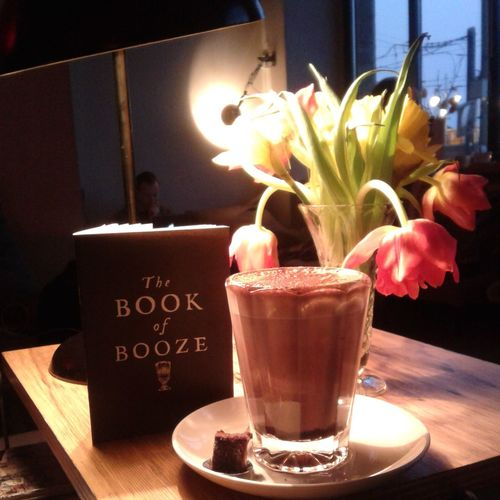 Tea Is Healthy but sometimes you just need a Hot Chocolate in the coziest cafe in Berlin!