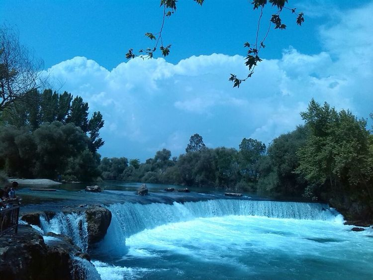Artificial Cold Day Flowing Flowing Water Majestic Manavgat Motion Nature No People Outdoors Power In Nature Reflection Remote River Selale Speed Sport Tranquil Scene Water Waterfall