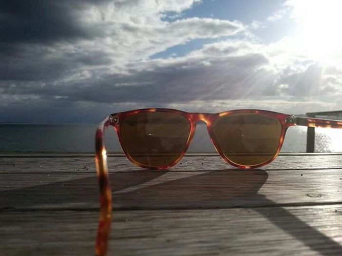 Travel Photography Eye4photography  Raybans Cool_capture_ New Zealand Scenery Lake Taupo PhonePhotography CreativePhotographer Outdoor Photography Sunlight, Shades And Shadows