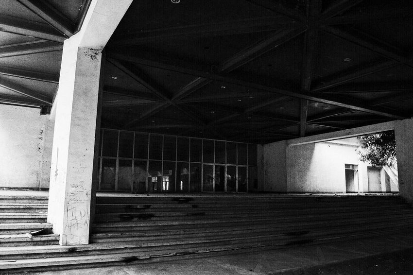 Eerily beautiful Abandoned Buildings Black And White B/W Photography Nothingness Solace Kindofpeaceful Mypointofview Throughmyeyes Write With Colors Eye4photography  Myperspective Taking Photos Walking Around EyeEm Gallery Eyeem Philippines