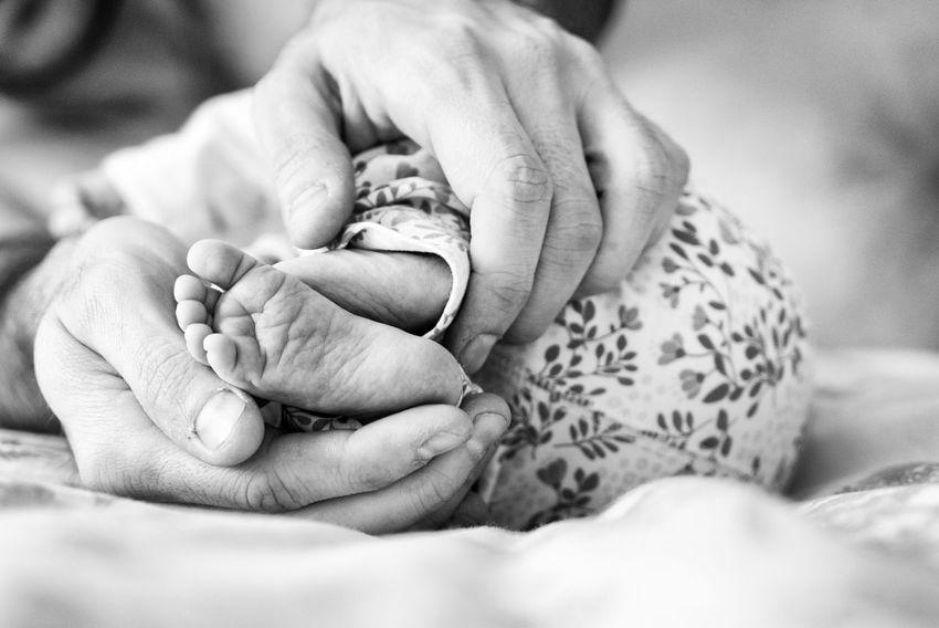 Baby Baby Baby ❤ Babygirl Babyhood Bonding Close-up Fragility Holding Newborn Togetherness