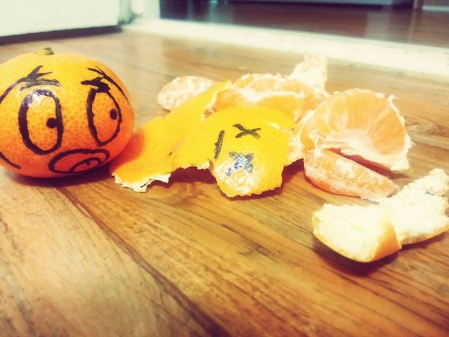 Fun EyeEm Best Edits EyeEmBestPics Funny Fruit Mandarin EyeEm Best Shots Fruitporn Comedy Small_world