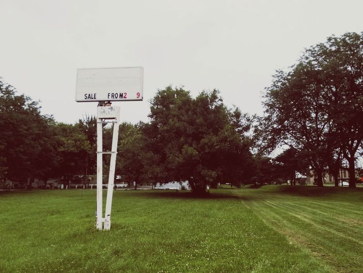 Abandoned Places Abandoned Sign Vacant Lot Vacantlot Vacant Lot Field
