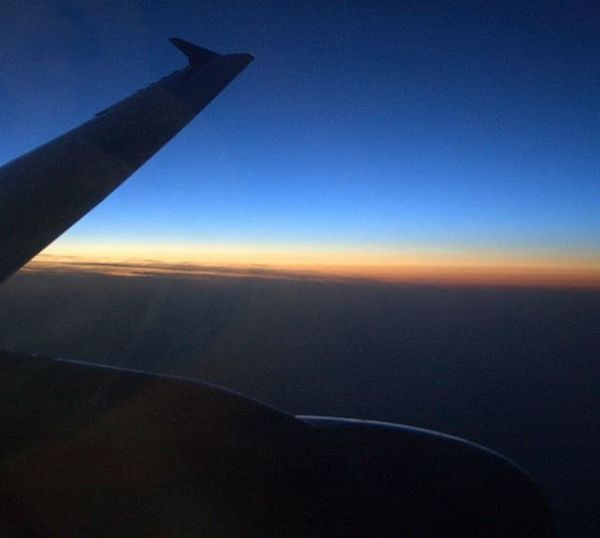 Aircraft Sunset Wizz Wizzair Airbus A320