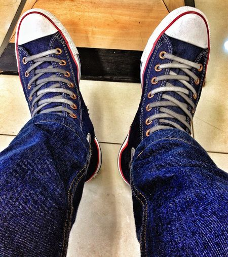 My Converse Taking Photos