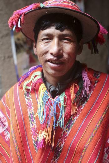 Man With Hat Peru Peruvian Peruvian Costume Peruvian Culture Peruvian Man South America