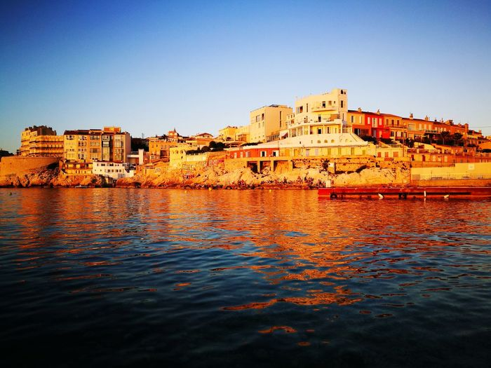 Marseille City Malmousque Tranquility Beauty In Nature Beach Sea Blue Day Scenics Outdoors Nature Hashtagnofilter