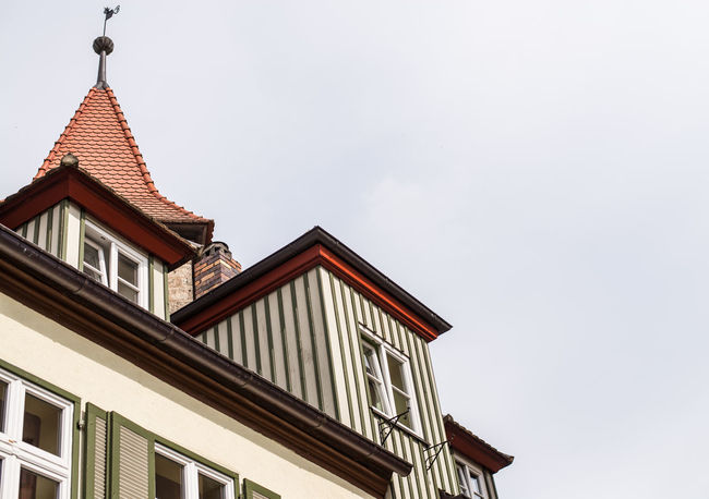 Architecture Building Building Exterior Built Structure City Day Dinkelsbuhl Exterior High Section Low Angle View No People Outdoors Sky