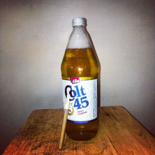 Only for the Real. TBT  Colt45 Blacc &mild 80sBaby BillieDWilliams @snoopdogg