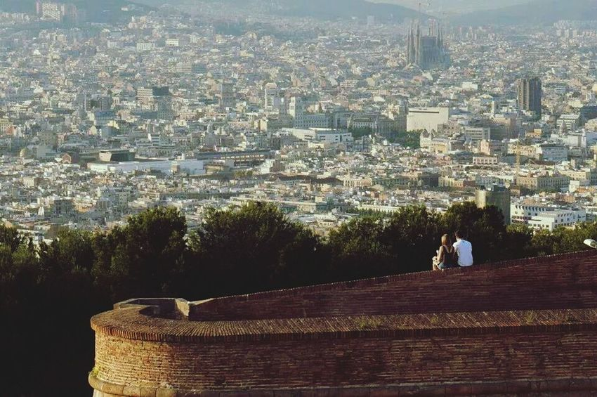 View from a castle in Barcelona. Its just stunning! I wish I can go back to this lovely city once again.