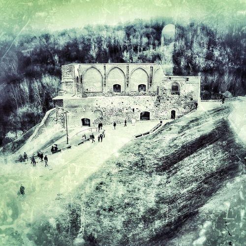 Neoretro Vilnius Lithuania Castle Old Historical Historical Building Castle Of Gediminas Gedimino Pilis