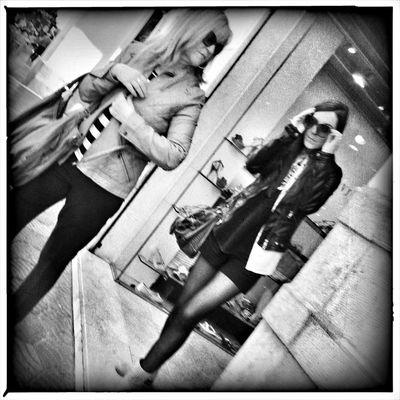 Streetphotography Hipstamatic Blackandwhite Street Portrait