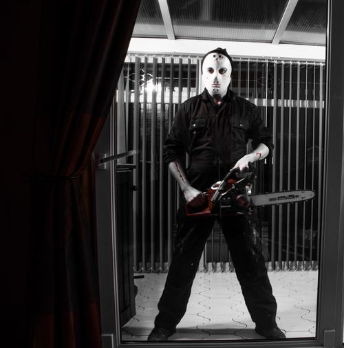 Horror Horror Photography Chainsaw Blood Scary Halloween