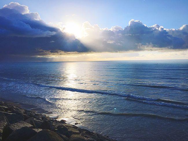 Relaxing Automne Normandie Mer Soleil