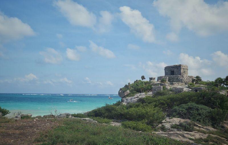 No People History Mexico Travel Travel Photography Destinations Architecture Ruins Maya Mayan Ruins Canon G16 Canonphotography Quintana Roo Akumal Ocean Sea