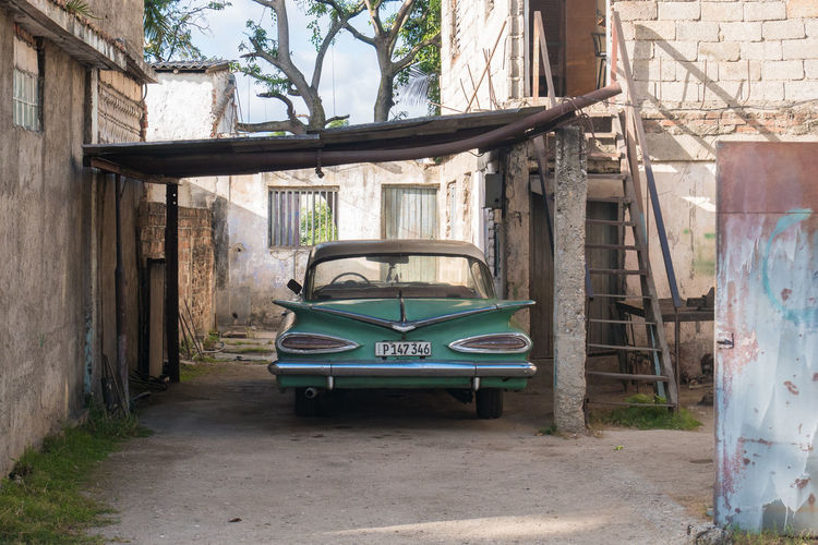Cuba Architecture Car Carribean No People Outdoors Transportation Vintage