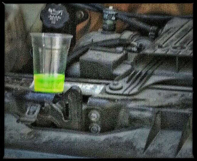 Color Cooling  Cooling Drink For A Hot Engine...
