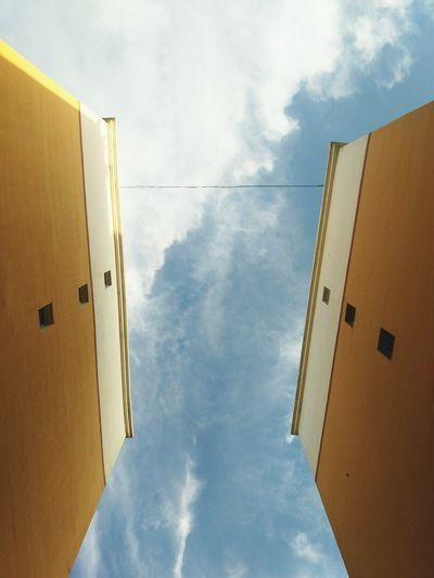 Sky Low Angle View