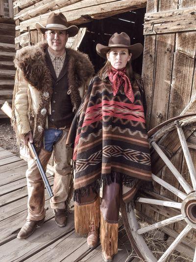 Cowboy, cowgirl