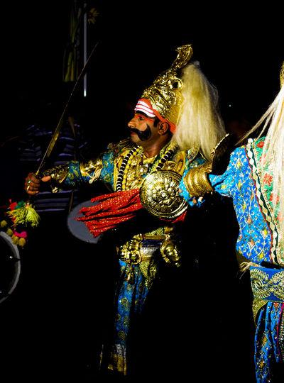 another picture of this traditional dance 'Veeragase' Karnatakadiaries Karnatakaisbeautiful Indianphotography Travel India Travelphotography Traditional Culture Treditional Culture Dance Photography Treditional Dance Tredition