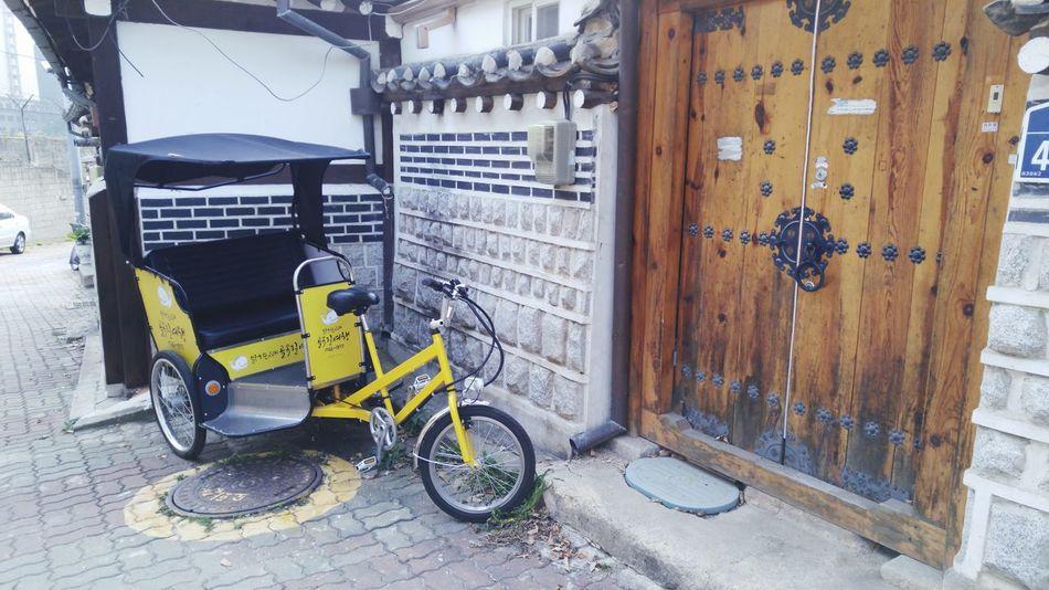Bukchon Rickshaws