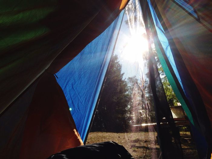 Lovely Weather Good Morning Sunrise Tent Hikingtrip