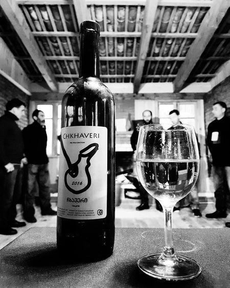 Chkhaveri Chkhaveriwine GeorgianWine Guria Indoors  Wine Alcohol Drink Bottle Wineglass Drinking Glass Close-up EyeEmNewHere