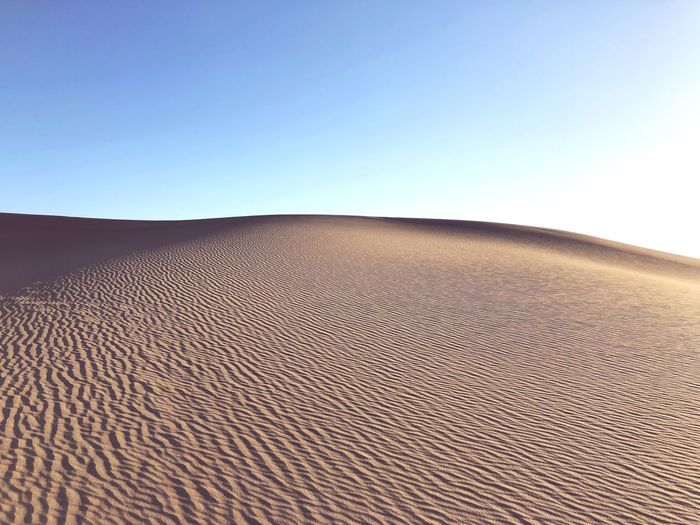 Sky Copy Space Clear Sky Nature Land Day No People Landscape Tranquil Scene Sunlight Scenics - Nature Tranquility Beauty In Nature Blue Sand Beach