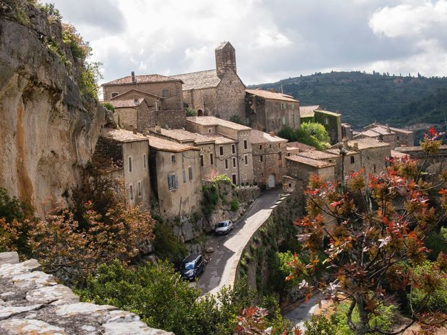 Building Exterior Architecture Outdoors No People Travel Destinations Mountain Beauty In Nature France 🇫🇷 Landscape_photography Built Structure Minerve