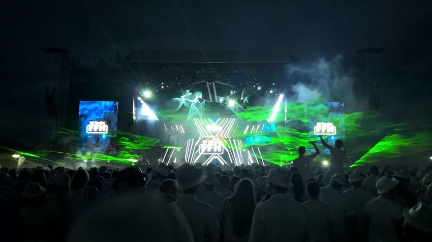 Arts Culture And Entertainment Audience Crowd Large Group Of People Lots Of Fun Lumia930 Music Music Festival Night Outdoors People Performance Popular Music Concert Stage Light TakeoverMusic TakeoverMusic