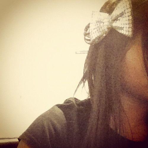 Hair Hairbow Style @yesi_fashion