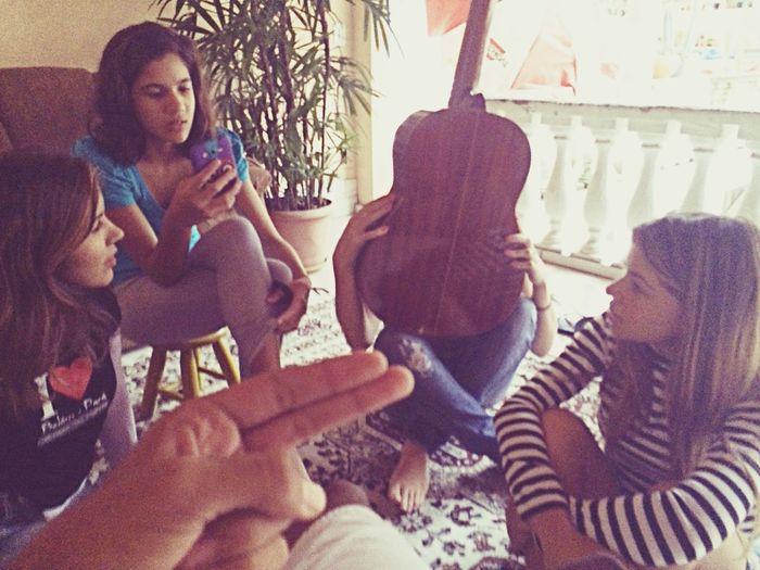 Girls Plug Jack Song Guitar
